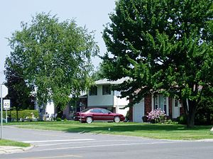 Barrhaven - One of the older parts of Barrhaven on Larkin