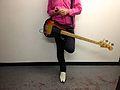 Bassist Steven McDonald, Redd Kross at Room 205, 2012-11-29.jpg