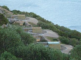 BL 6-inch Mk VII naval gun - 7th Coastal Artillery Battery (Portugal)