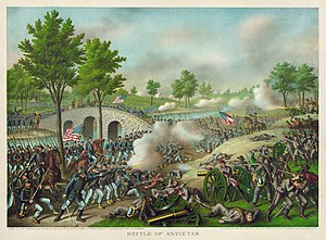 15th Regiment Alabama Infantry - Battle of Antietam by Kurz and Allison