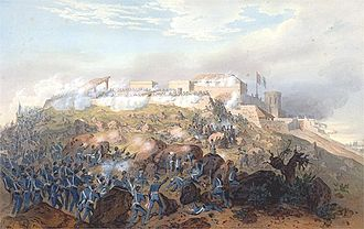 Battle of Chapultepec - Battle of Chapultepec