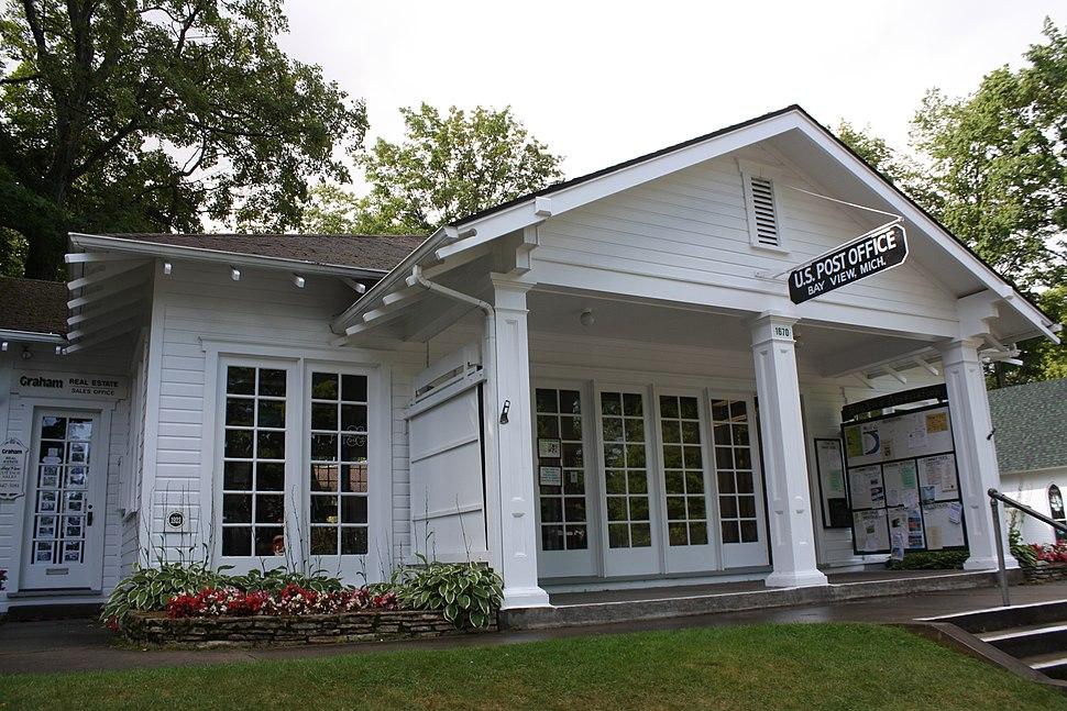 Bay View Michigan Post Office