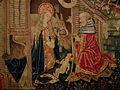 Beaune, Collégiale Notre-Dame, Tapisseries de la Vierge 010.JPG
