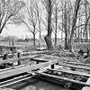 begin bouw van molenaarswoning op de plaats van de vroegere oliemolen - dommelen - 20059340 - rce