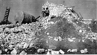 Beit Eshel - Beit Eshel after recapture by the Israeli army. 1948