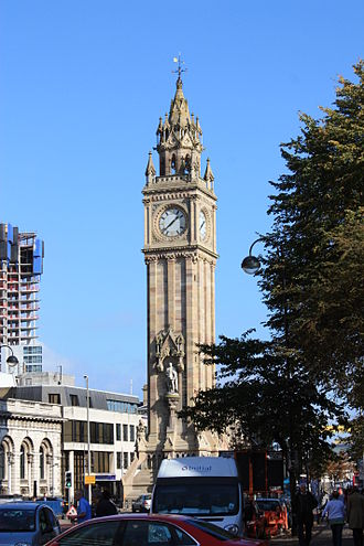 Castle (District Electoral Area) - Albert Memorial Clock, Custom House Square