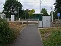 Belgrave Walk tramstop eastern entrance.JPG