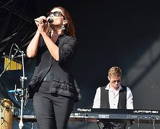 Belinda Carlisle - Carlisle performing in Bristol, England, 2014.