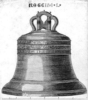 English: This print of the bell named Great To...