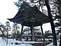 Bell tower of Honkoji Temple 20150123.JPG