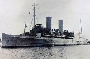 Senussi Campaign - Image: Ben my Chree following conversion to Seaplane Carrier