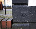 Bench Mark, Belfast - geograph.org.uk - 1732754.jpg