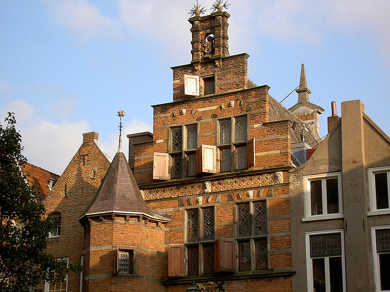 House in the lower part of Nijmegen, the so-called Benedenstad.