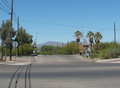 Benson, AZ railroad crossing.png