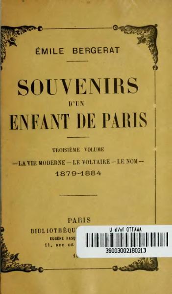 File:Bergerat - Souvenirs d'un enfant de Paris, vol. 3, 1912.djvu