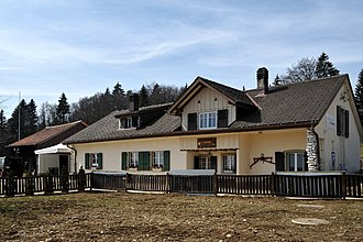 Orvin - La Bragarde house in Les Prés-d'Orvin