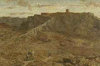 Mountainous Landscape in Egypt