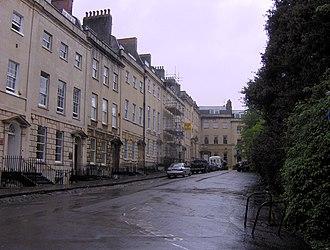 Berkeley Square, Bristol - Image: Berkeley Square East Side 2