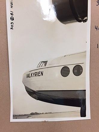 Bernt Balchen - Image of Balchen's plane