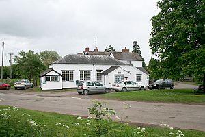 Berrow, Worcestershire - Image: Berrow Village Hall