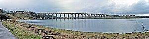 Royal Border Bridge - Image: Berwick upon Tweed Royal Border Bridge