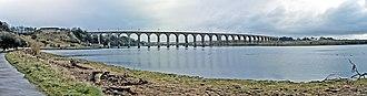 Royal Border Bridge - Image: Berwick upon Tweed Royal Border Bridge