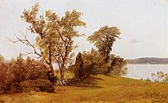 Bierstadt Albert Sailboats on the Hudson at Irvington.jpg