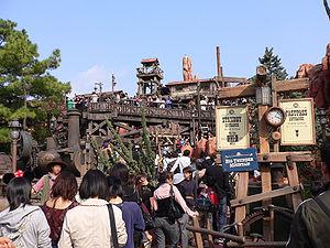 Frontierland - Big Thunder Mountain at Tokyo Disneyland