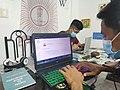 Bikol Wiktionary Editathon using Lingua Libre 03.jpg
