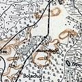 Bila Station (Bile), 1917, map.jpg