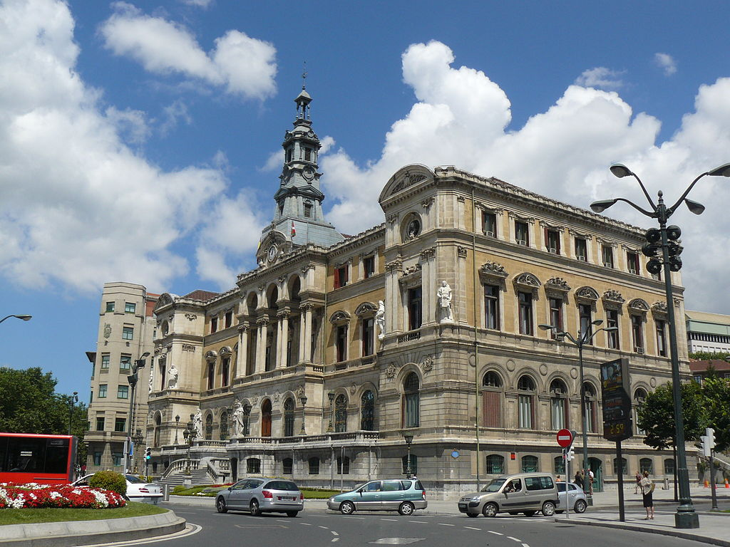file bilbao city hall wikimedia commons. Black Bedroom Furniture Sets. Home Design Ideas