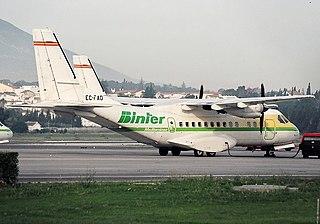 Binter Mediterráneo Flight 8261 2001 aviation accident