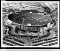 Birdseye view of the Rose Bowl in Pasadena during a football game ca1926.jpg