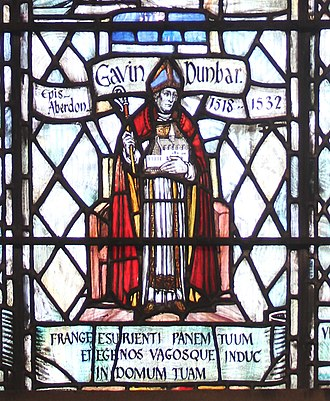 Hospitals in medieval Scotland - Bishop Gavin Dunbar Founder of St Mary's Hospital (1531) Old Aberdeen