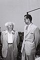 Bishweshwar Prasad Koirala - David Ben Gurion 1960.jpg