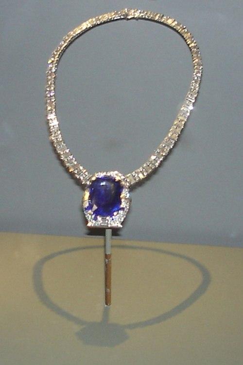 Bismarck Sapphire Necklace