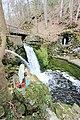 Bitburg-Albach (Eifel); Tropfsteinhöhle und Wasserfall a.jpg