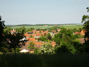 Liebenburg - Image: Blick Liebenburg