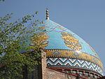 Blue Mosque, Jerevan roof.JPG