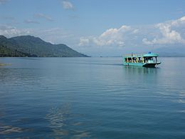 Boat on Nam Ngum Lake.JPG