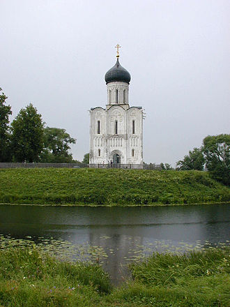 Church of the Intercession on the Nerl - The Church of the Intercession on the Nerl.