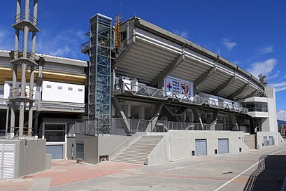 How to get to Estadio Nemecio Camacho Campin with public transit - About the place