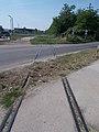 Bokodi út level crossing, 2018 Oroszlány.jpg