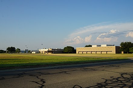 Bonham High School Bonham July 2016 35 (Bonham High School).jpg