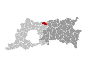 Boortmeerbeek - Image: Boortmeerbeek Locatie