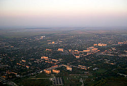 Aerial view of Boryspil