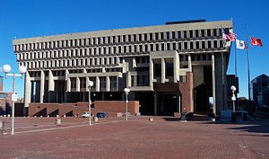 Government Center, Boston - Boston City Hall
