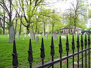 Central Burying Ground on Boston Common