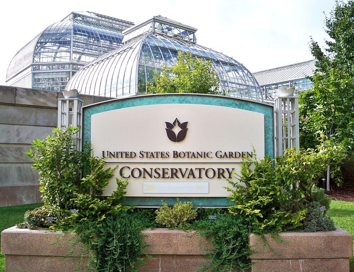 Jardin botanique des tats unis wikip dia for Au jardin les amis singapore botanic gardens
