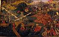 Bottega di paolo uccello, pannelli di cassone con armi medici e rucellai, firenze, 1466 ca. 02.JPG